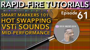 SWS Smart Markers 101: Intro to Smart Markers (Rapid-fire Reaper Tutorials Ep61)
