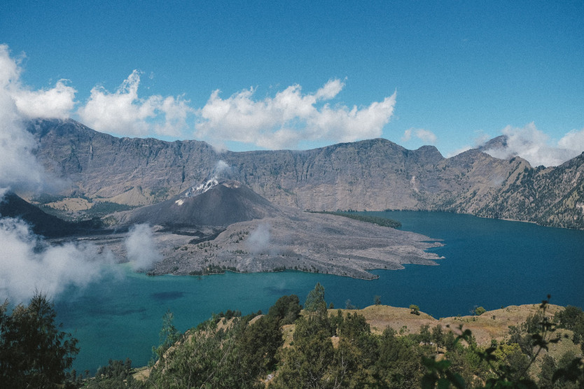 The Trek to Mount Rinjani