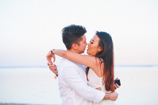 Surprise Proposal on Bali Holiday