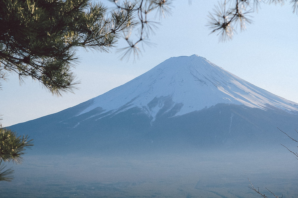 Fuji, the most iconic mountain in the world