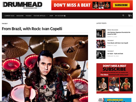 From Brazil, with Rock: IVAN COPELLI