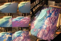 Cloudscape Floor Process