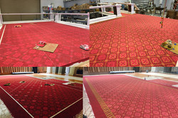 Carpet Stencil Process