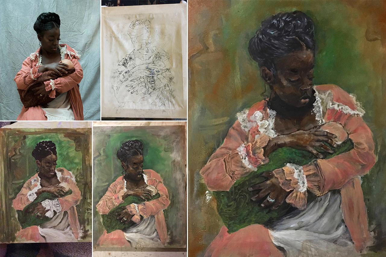 Portrait Process