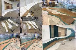 Dune carving process