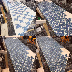 Spanish Tile Floor
