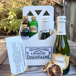 The Champagne Cocktail - $75