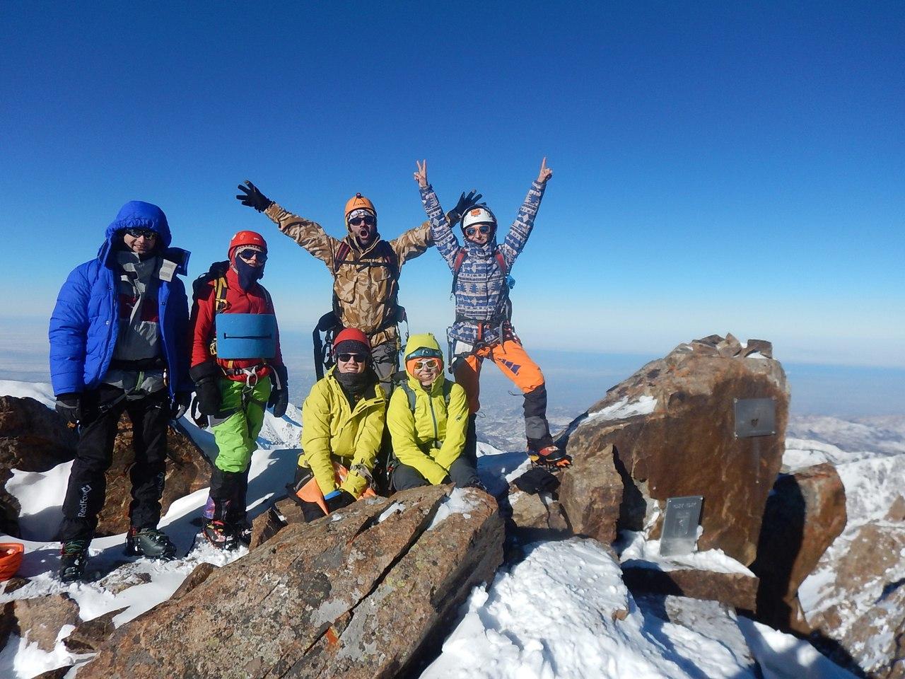 После горы