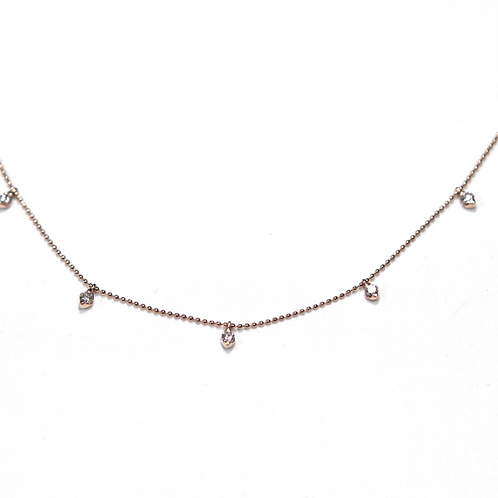 Candor Necklace (18k Rose Gold)