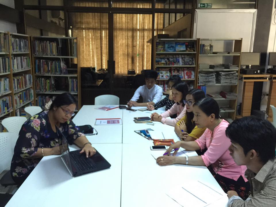 British Council Mandalay April 2017
