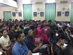 Training at Yangon University