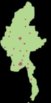 Map of eTekkatho library installations