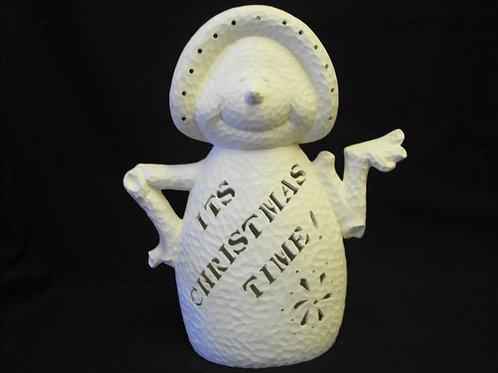 """It's Christmas Time"" Snowlady"