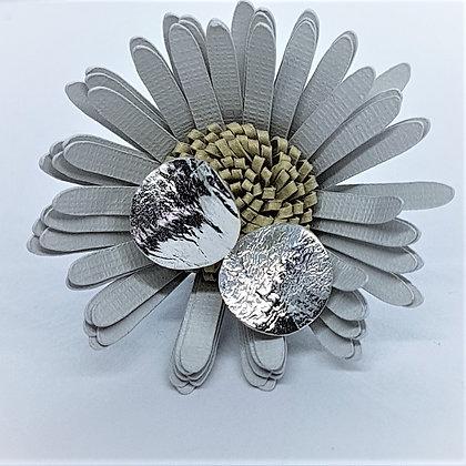 Silver Wavy Lunar Earrings