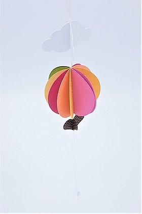 Hot Air Balloon Mobile - Summer Tones