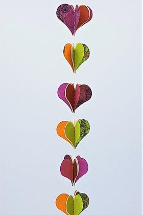 Heart Mobiles - Summer Tones