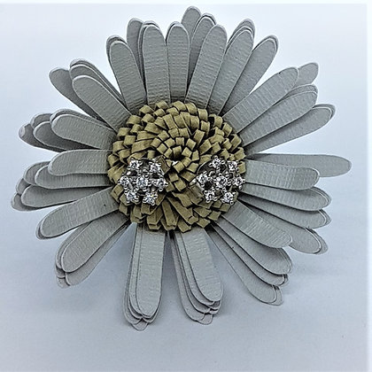 Icy Snowflake Earrings, Silver & Cubic Zirconia