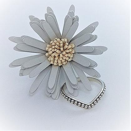 Bead Wishbone Ring