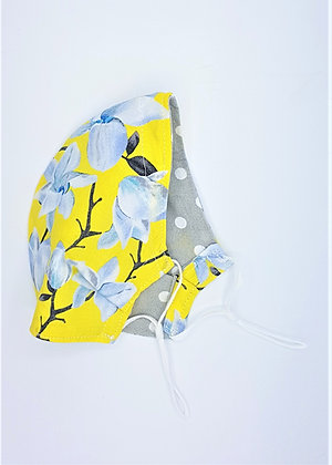 Yellow Flowers Face Mask