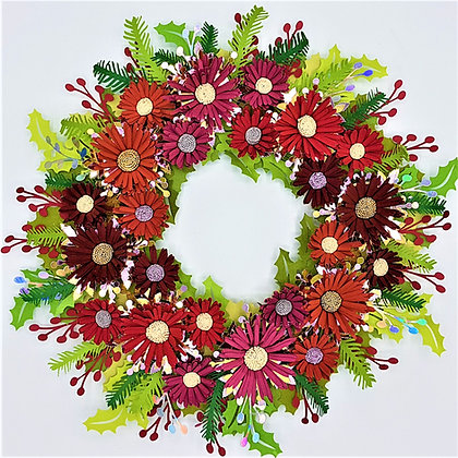 Jolly Festive Wreath