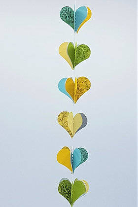 Heart Mobiles - Cool Brights