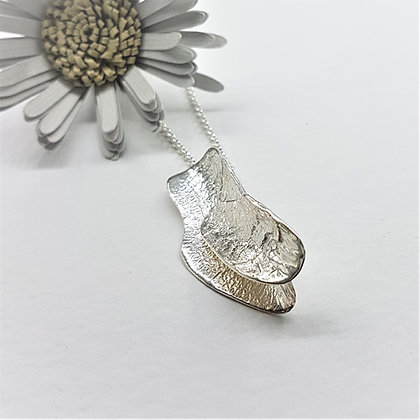 Silver Curls of Decadence Necklace