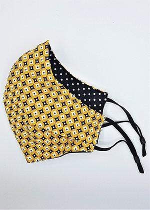 Mustard Yellow Geometric Pattern