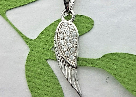Angel Watching Over You Necklace