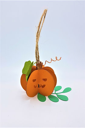 Happy Hanging Pumpkin