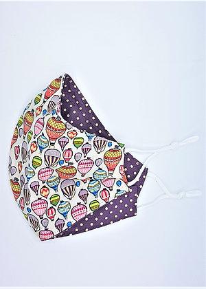 Hot Air Baloon Face Mask