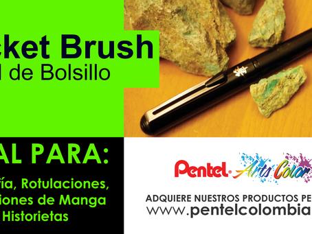 Pocket Brush Pentel, Pincel de Bolsillo