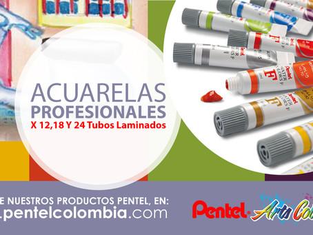 Acuarelas Profesionales X 8, 12,18 Y 24 Tubos Laminados