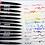 Pentel Sign Brush Punta Flexible Micro Pincel  para Lettering  Caligrafía Ilustrar Dibujar Diseñar Varios Colores