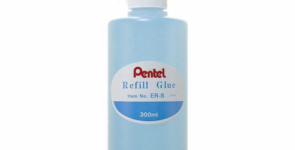 Pentel  Frasco Recarga pera Pegante de pincel contiene 300ml  económico