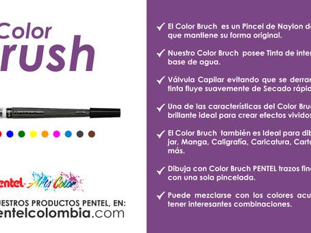 COLOR BRUCH, De venta en nuestra página web www.pentelcolombia.com