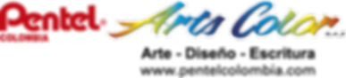 Logo  a Color PENTEL COLOMBIA  ARTS COLO