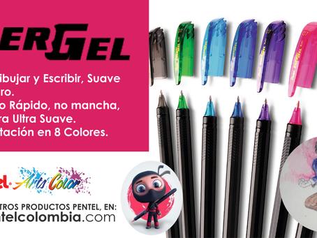Boligrafo ENERGEL pentel, De venta en nuestra página web www.pentelcolombia.com