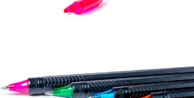 Pentel Bolígrafo  Energel  BL417  7 colores vivos  ultra suave  no mancha secado rápido ideal para zurdos