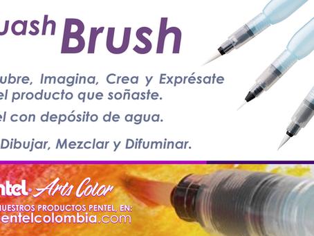 Aquash Brush Punta FINA, MEDIANA & GRUESA