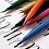 Pentel Brush Touch Punta Pincel Flexible Para Lettering Caligrafía Ilustrar Dibujar Diseñar Presentación Individual