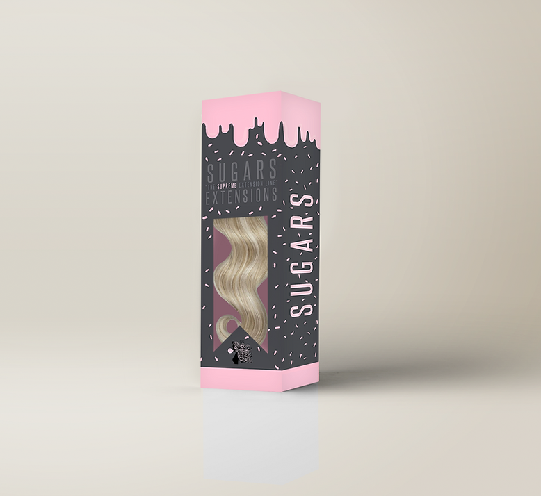 sugars extensions, packaging, 3d, box, design