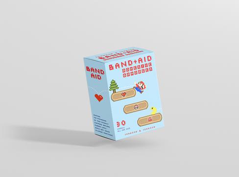 8 Bit Band Aid Box