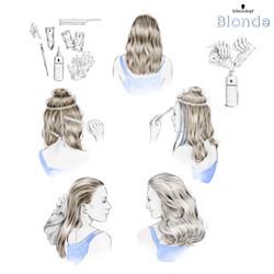 Schwarzkopf Blonde campaign