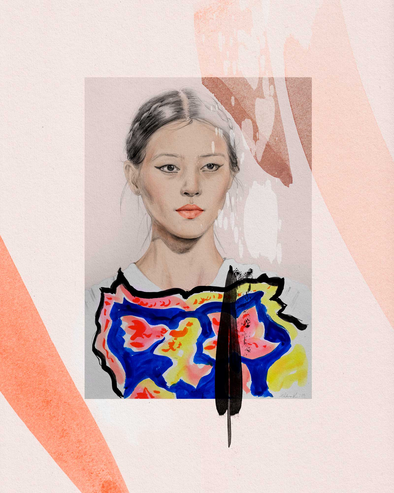 Liu Wen – Valentino