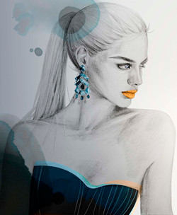 Loulou de la Falaise earrings