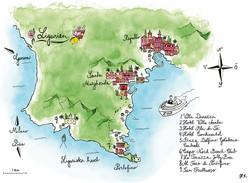 Wedding invitation –map