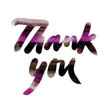 Thank you | Greeting cards | 5 pcs