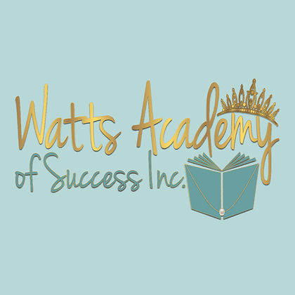 Watts Academy of Success Inc Logo - Teal