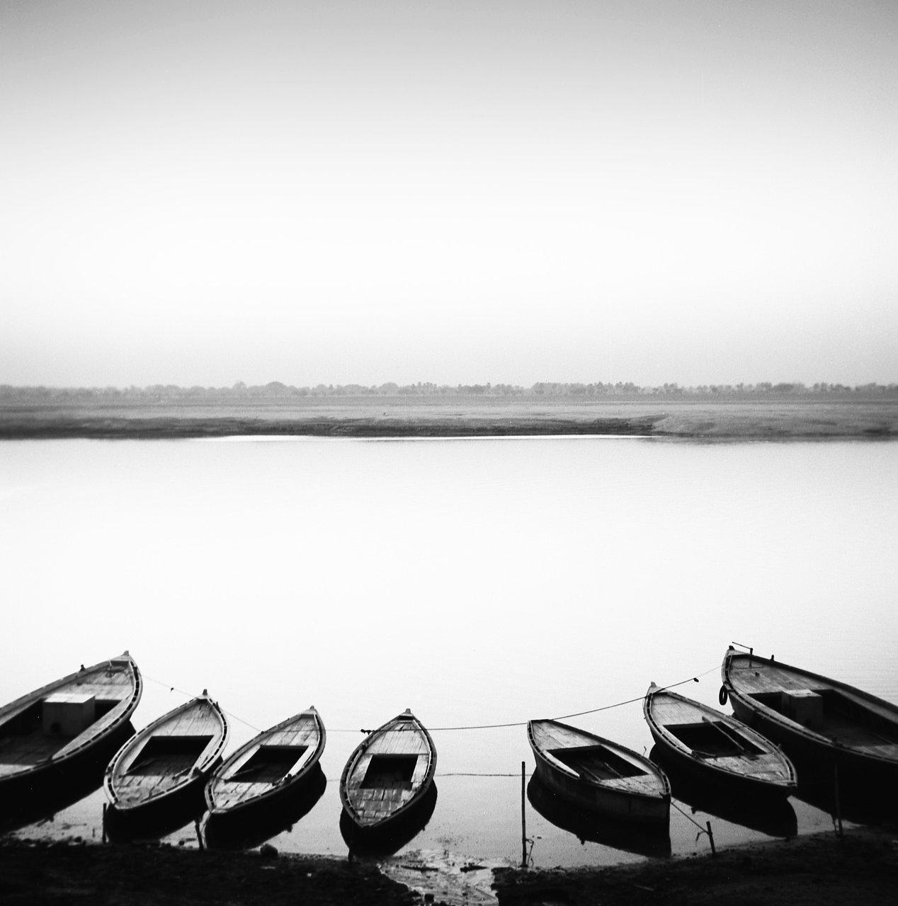 7 boats, Varanassi
