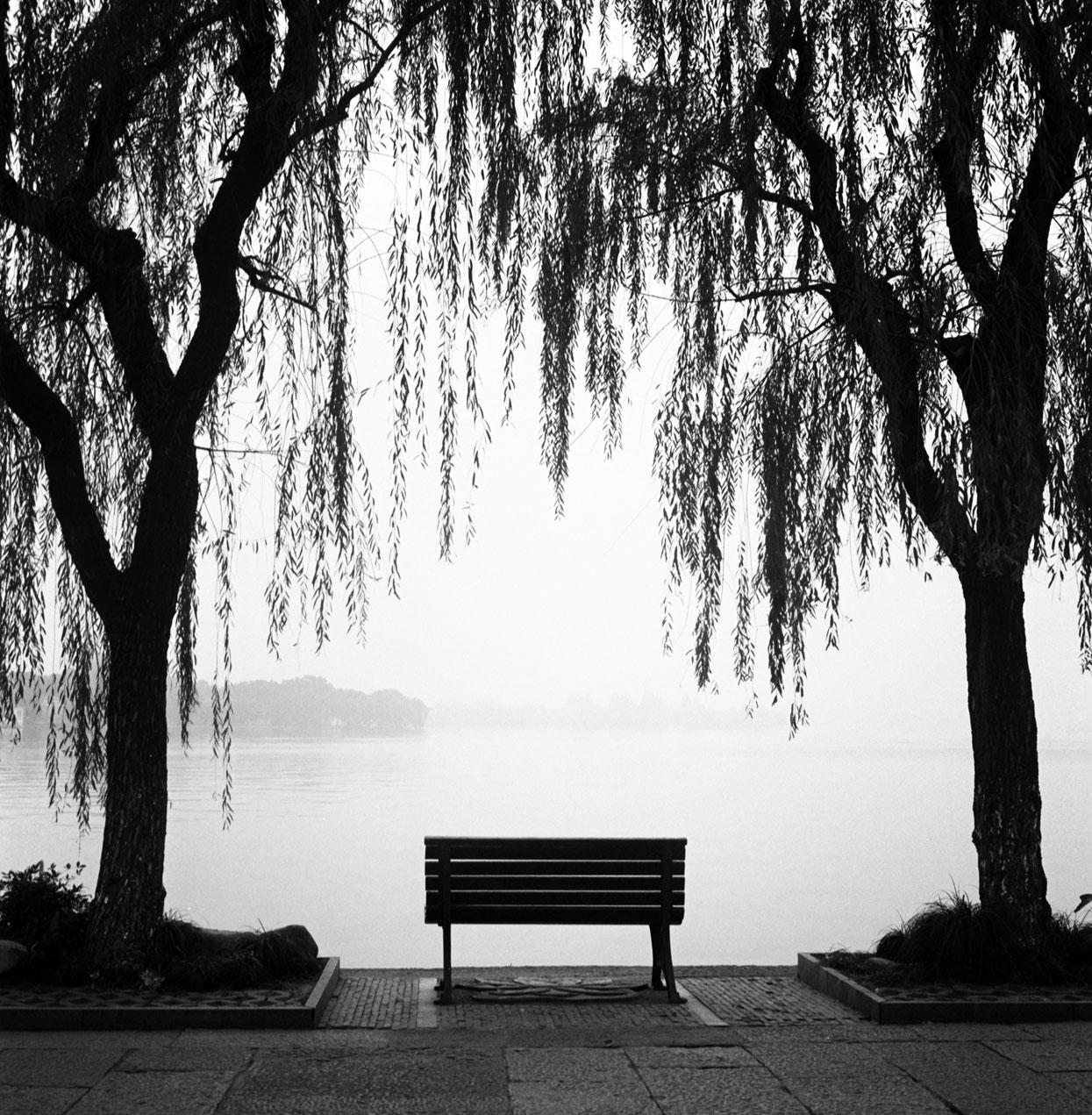 Lonely bench I, West lake, Hangzhou